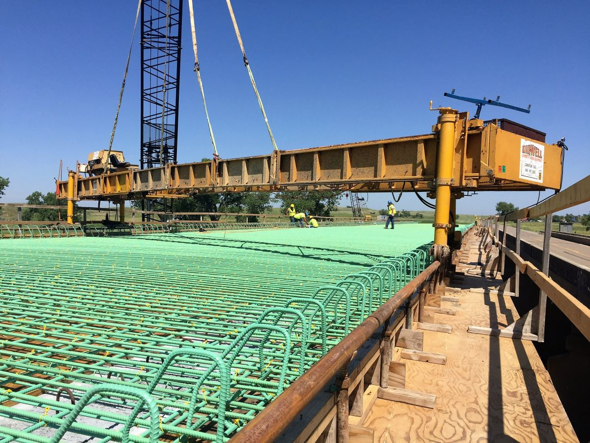 Bridge Construction (Faith, SD)   Heavy Constructors Inc