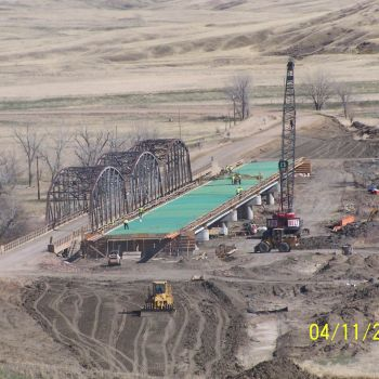 County Road 656 Bridge Construction (Cheyenne River, SD)