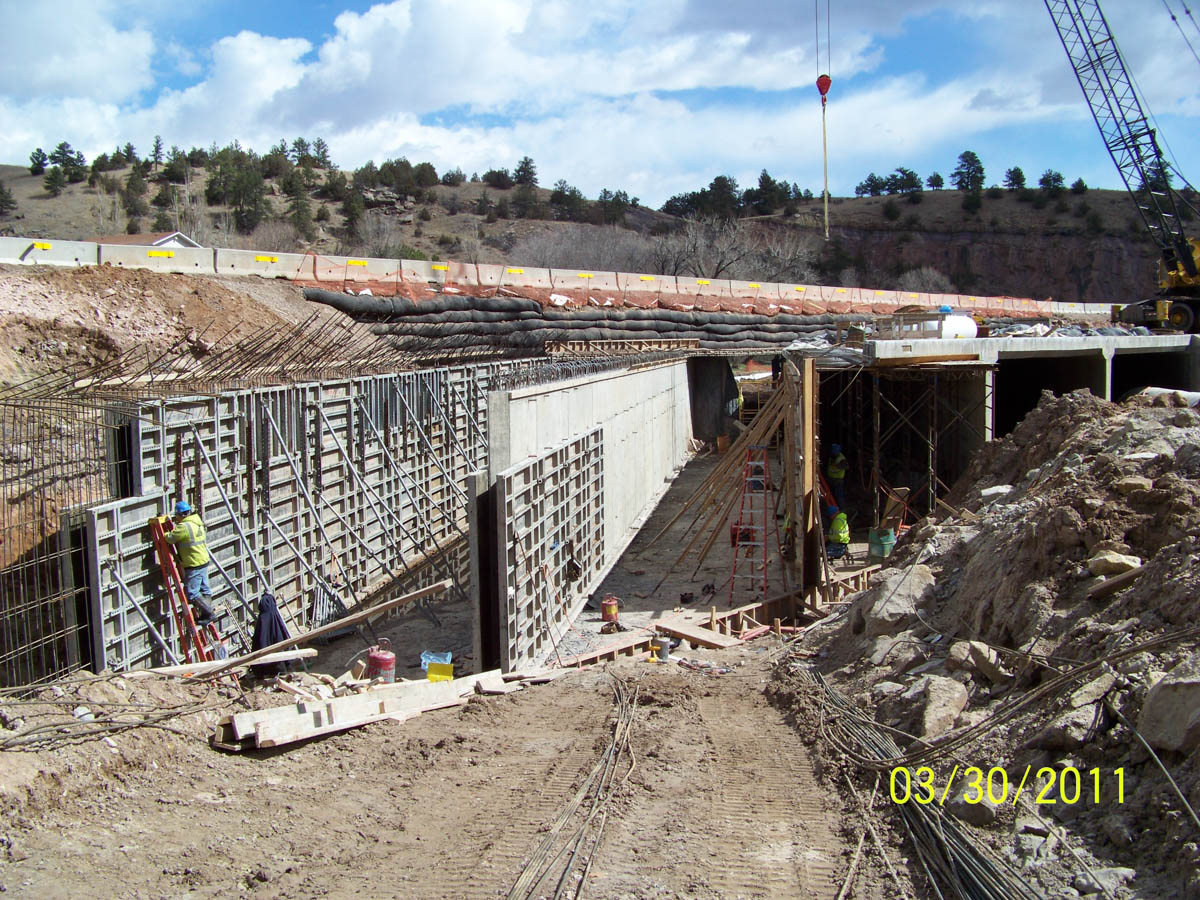 Highway 18 Cast In Place Box Culvert Construction Hot