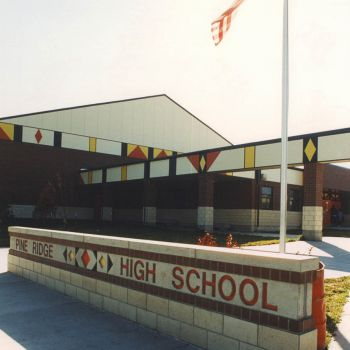 Pine Ridge High School (Pine Ridge Reservation, SD)