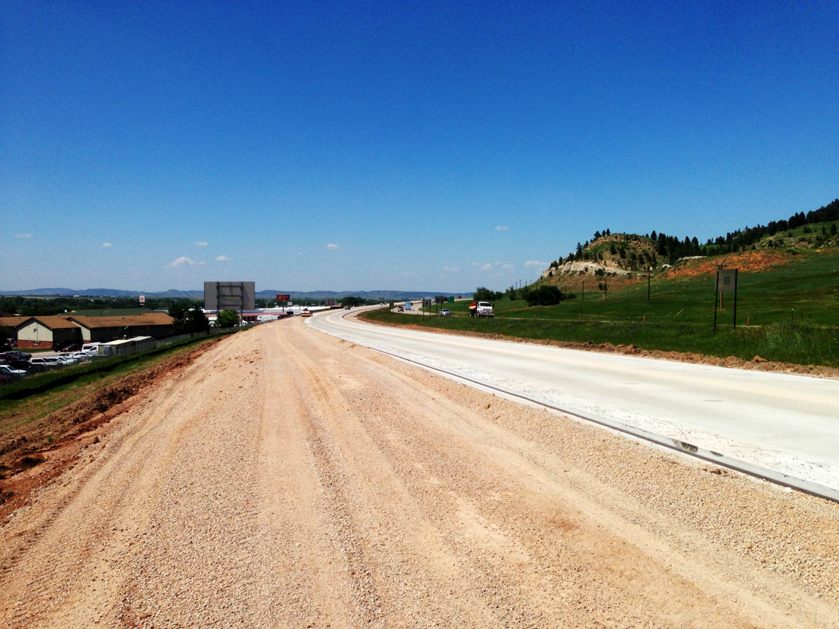 Spearfish i 90 south exit 10 exit 17 heavy for I 90 construction